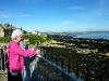 Blick vom Castle Turm auf St. Andrews Bay