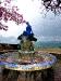 """Brunnen und Statue \""""Sirenetta\"""""""