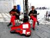 Musiker an der Piazza IX Aprile