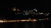 Blick vom Hafen auf Taormina