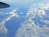 Heimflug über die Alpen