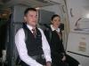 Unsere netten Flugbegleiter