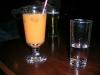 Welcome-Drink : O-Saft mit Raki