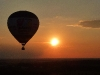 Der untergehenden Sonne entgegen ...
