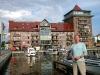 Ehemaliger Speicher im Hafen von Neustrelitz