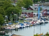 """Segelboothafen am Ende vom """"Alten Strom"""""""
