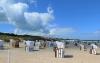 Strandkörbe reichlich