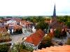 Blick auf St.Johanniskirche und Zentrum