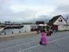 Mieses Wetter am Hafen heute