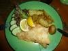 Zum Abendessen Fisch - was sonst?
