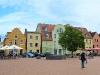 Auf dem Marktplatz in Barth